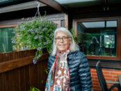 Lisbeth Helgesson är initiativtagare till den nya gång- och cykelbanan på Södergatan.