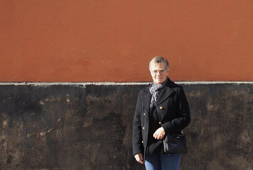 Birgitta Olsson, 65.