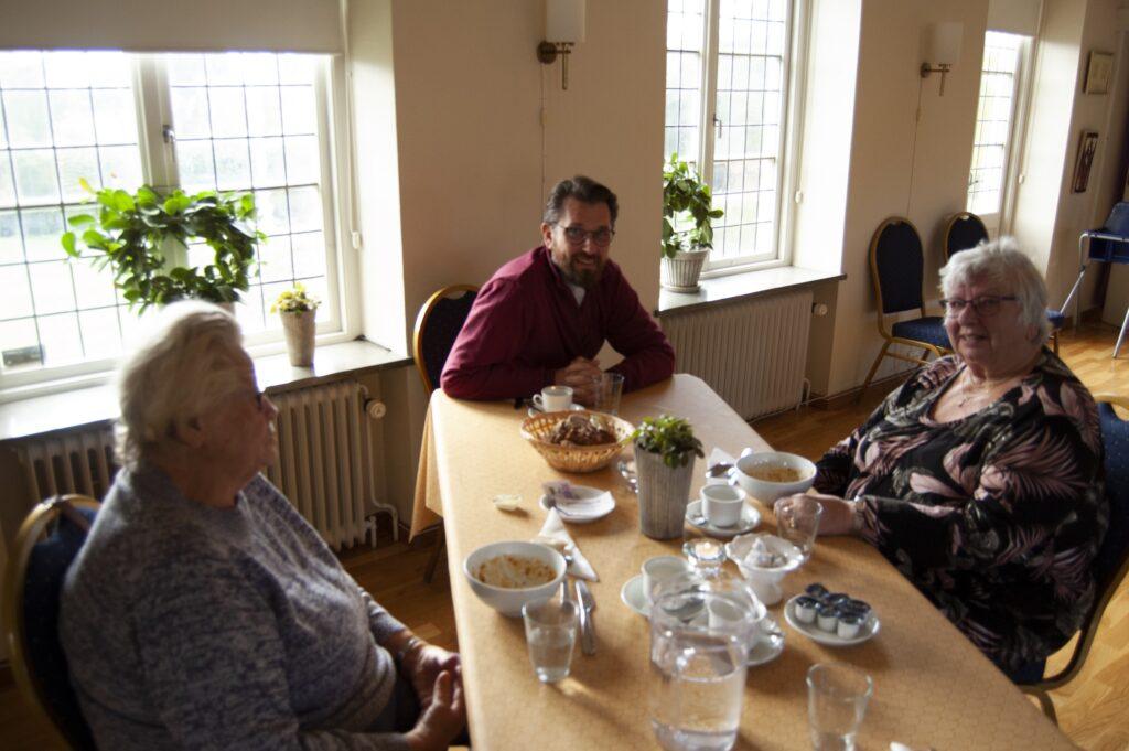 Gunnar Pelinka är kyrkoherde vid Skivarps församling. Om han måste välja är favoriten ändå potatis- och purjolökssoppa.
