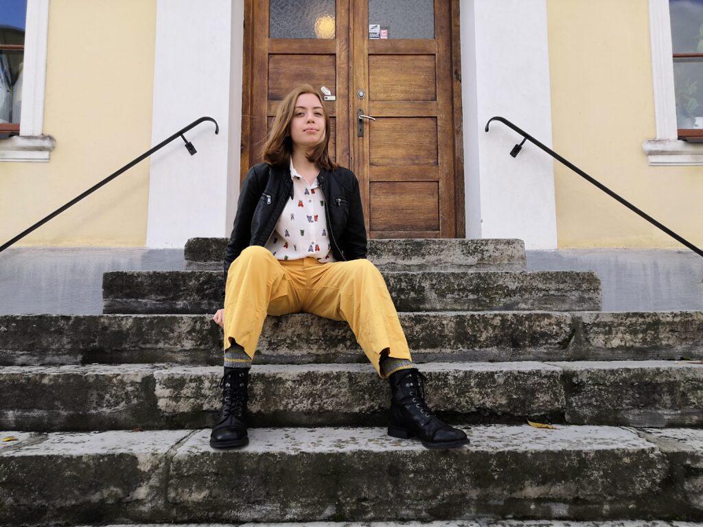 """""""Offret"""" är den andra av Nanna X noveller som blivit nominerad för Lilla Augustpriset."""