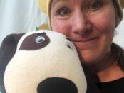 Karin Holmström med Hunden Rund.