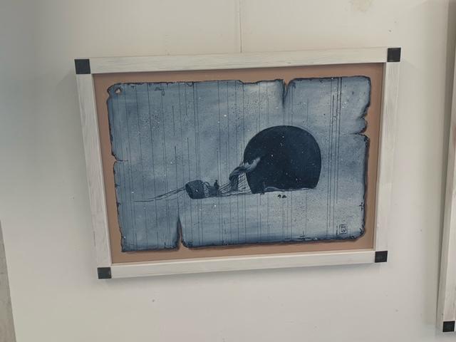 Konstutställning på Mästers galleri.